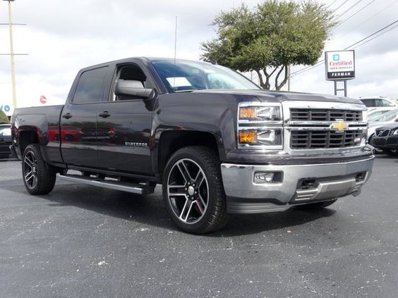 2014 chevrolet silverado 1500 lt z71 crew cab 4x4 gray chevy trucks and suvs pinterest. Black Bedroom Furniture Sets. Home Design Ideas