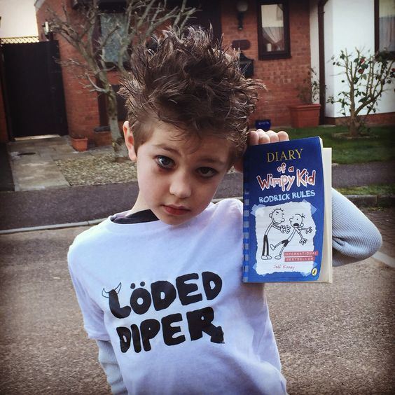 Diary Of A Wimpy Kid Dress Up Roderick