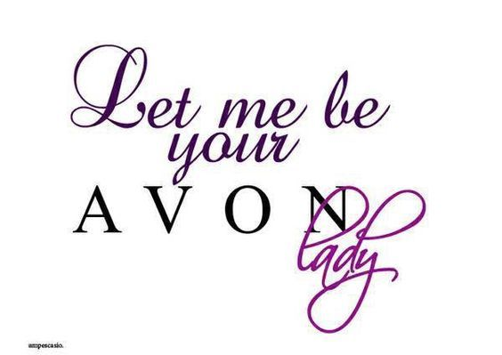 Let Me Be Your Avon Lady; used in Blog