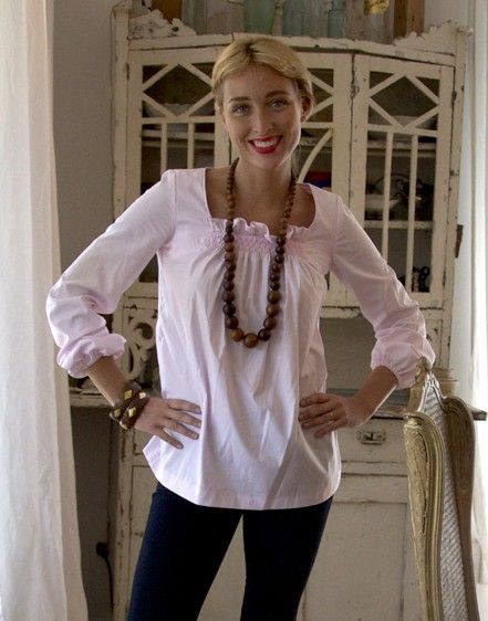 I love the stylish simplicity of a great white blouse.