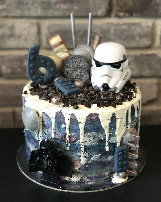 Salmon And Mozzarella Cake Clean Eating Snacks Recipe Star Wars Birthday Cake War Cake Cake