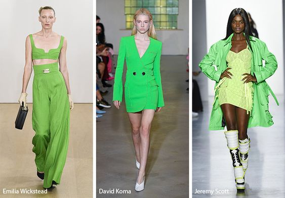 Spring/ Summer 2019 Color Trends: Neon Green