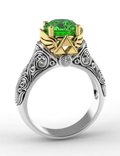 Alien Forms Misfit Of The Month August 2018 Misfitwedding Com Geek Wedding Rings Zelda Engagement Ring Gamer Wedding