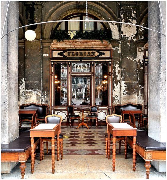 Venedig - Caffé Florian von PhotoGL