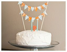 Parker's Orange and Blue Birthday Party