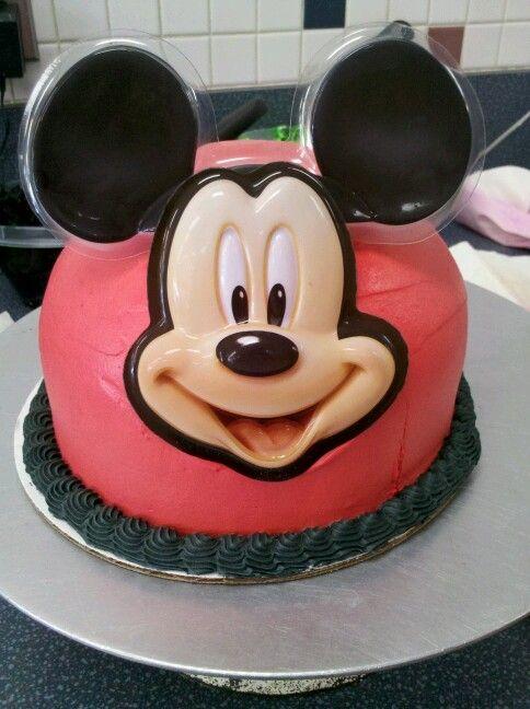 Mickey Mouse Ice Cream Cake Baskin Robbins