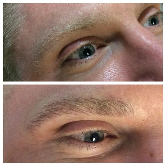 Permanent makeup eyebrow tattooing for men and women for Eyebrow tattoo men