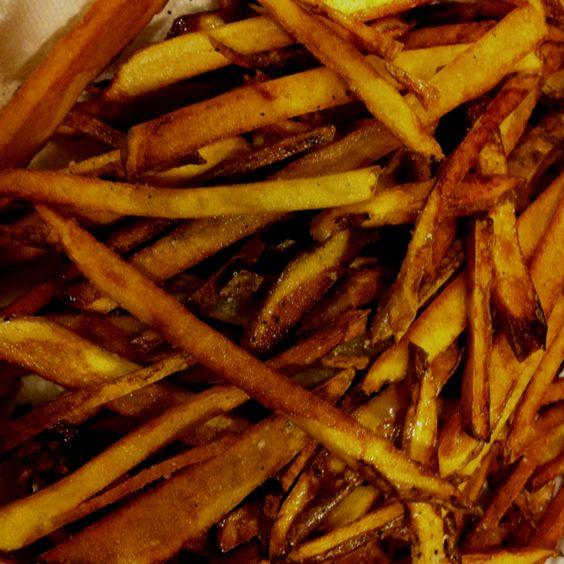 Twice fried home made fries