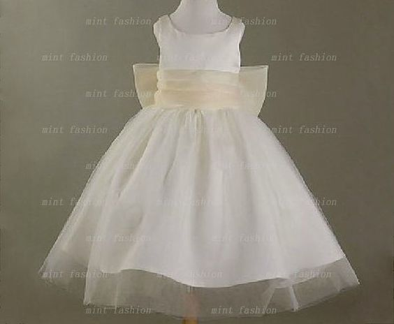 junior flower girl dresses short flower girl dress by Yesdresses, $78.00