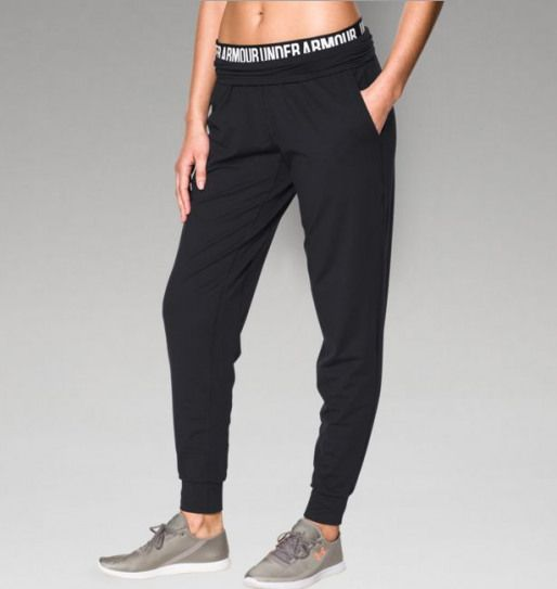 Shop Under Armour For Womens Ua Downtown Knit Pant In Our Womens Bottoms Department Free Shipping Is Womens Sweatpants Under Armour Women Under Armour Joggers