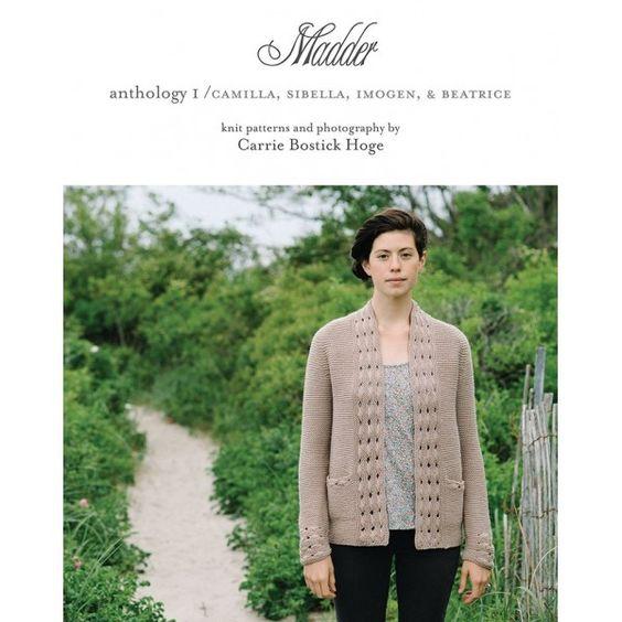 Madder : Anthology I - livre tricot - Annette Petavy Design