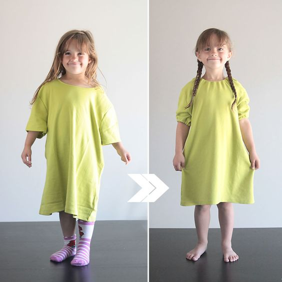 Re-purpose and make a DIY nightgown.