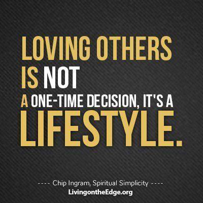 Chip Ingram -- Loving Others.