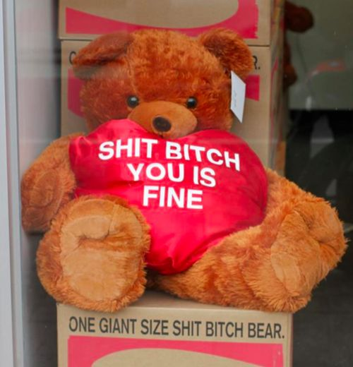 For my wonderful wife...: Bitch Bear, Shit Bitch, Valentines Day, Happy Valentine, Funny Stuff, Valentine Gift, Valentine Day Gifts, Valentine S