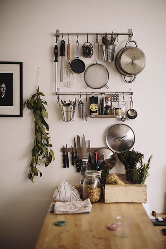 Organize Your Kitchen - Wall Mounts