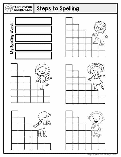 Free Editable Spelling Worksheets Free Spelling Worksheet Printables These Universal Spel Spelling Worksheets Spelling Word Activities Word Work Kindergarten