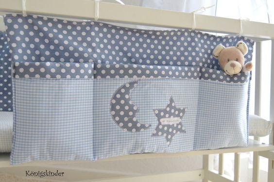 große Bett Tasche,Utensilo von Königskinder auf DaWanda.com