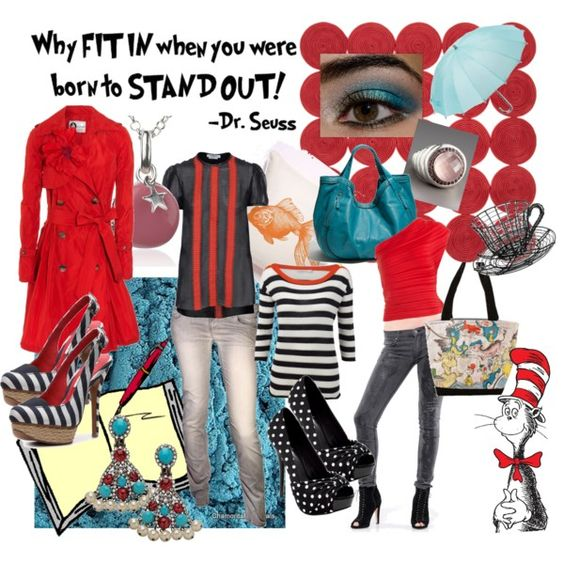 Stand Out Dr. Seuss Style