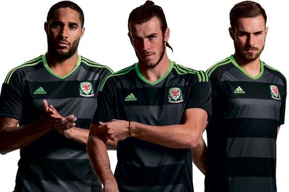 Gareth Bale and Wales unveil new-look grey and charcoal away kit for Euro 2016