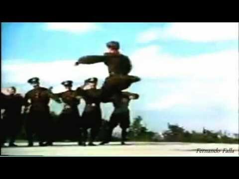 Danzas Rusas. - Russian soldiers dance -