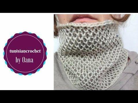 stili classici vendita ufficiale numerosi in varietà 63) Tunisian crochet honeycomb st neckwarmer by Oana ...