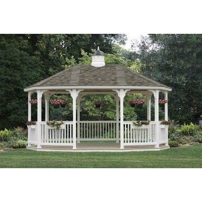 Homeplace SV1218 12' x 18' Vinyl Gazebo Floor Kit: Yes by HomePlace. $9543.44. Homeplace SV1218 This elegant maintenance-free vinyl gazebo is perfect in any setting and is an excellent place to relax with friends and family...letting life come to you. The beautiful design allows you to create your own affordable private sanctuary to complement your home. Made from the finest maintenance-free materials on the market, this gazebo is built to last for generations. No c...