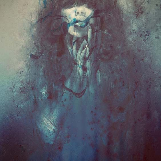 Leslie Ann O'Dells' Hauntingly Surreal Portraits Flourish With Beauty And Death: