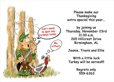 Thanksgiving Invitation Wording for Your Thanksgiving Dinner Party ...