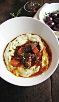French Beef Stew with Red Wine