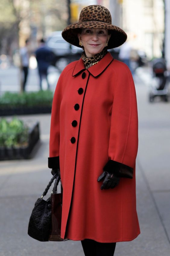The Best Hat on Madison Avenue via Advanced Style