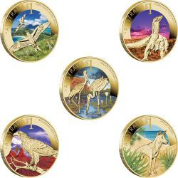 Celebrate Australia - World Heritage Sites 2012 $1 Coin Collection