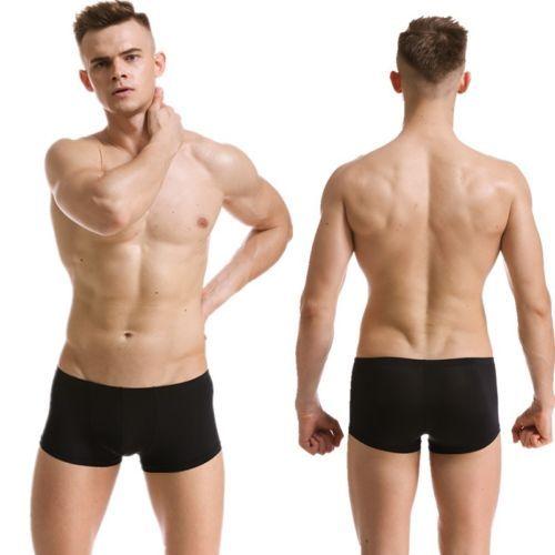Man Underwear: Popular Mens Underwear Boxer Briefs Bulge Pouch ...