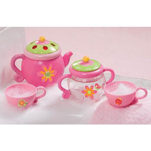 Babies R Us Tea Party Set for the bath tub. need this for hannah
