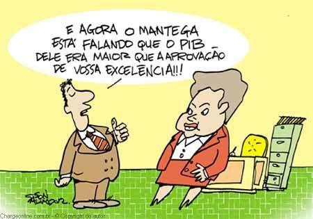 Aprovação de Dilma...