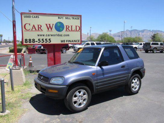 Sport Utility 1997 Toyota Rav4 2wd 2 Door With 2 Door In Tucson Az 85705 Toyota Rav4 Toyota Rav4