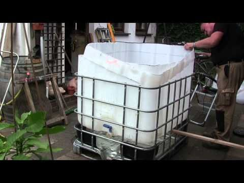 Video: Pool aus IBC Tank Container selber bauen – So einfach ...