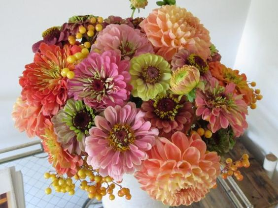 Notes From a Flower Farm: Sunflowers, Zinnias, and Dahlias, Katherine Anderson (from Garden Design)