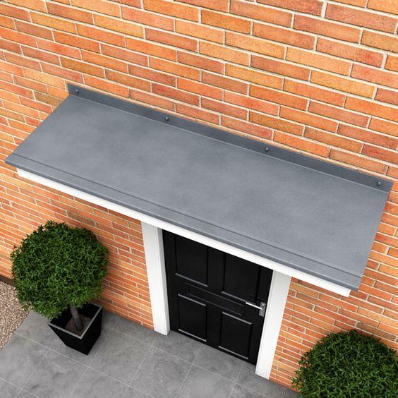 Front Door Roof: Windermere Flat Door Canopy