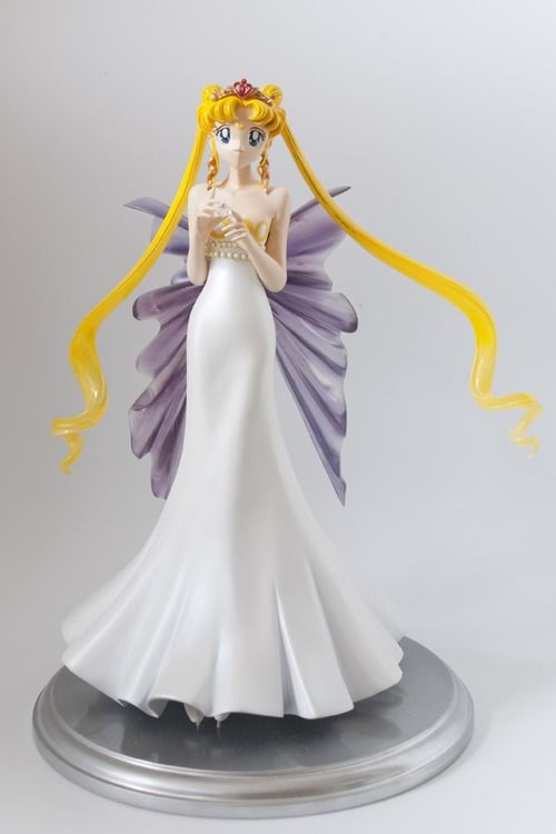 silvermoon424:  Sailor Moon garage kits assembled and painted...
