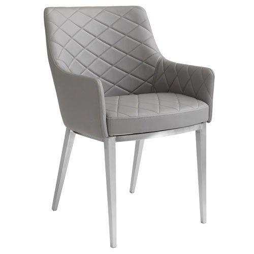 Centrie Dining Armchair Grey Armchair Armchair Solid Wood