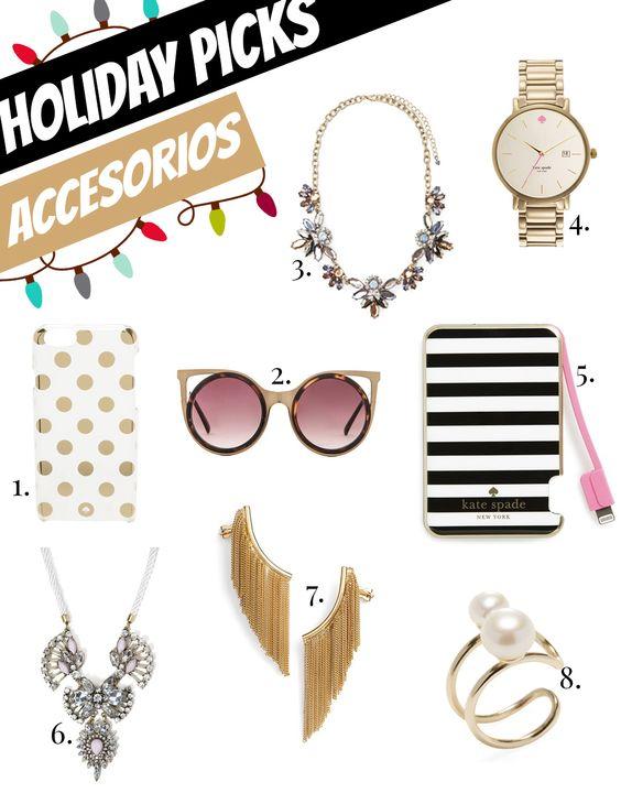 Holiday picks: Accesorios