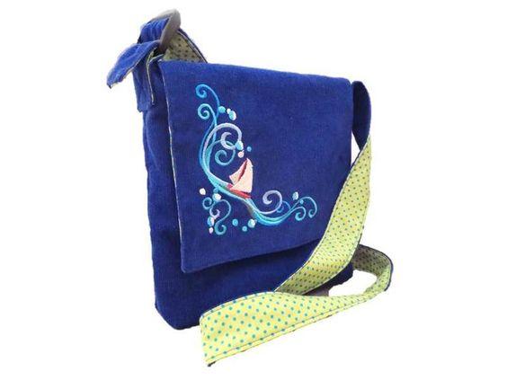 Kindergartentaschen - Kindergartentasche Segelboot - ein Designerstück von ZauberDrum bei DaWanda