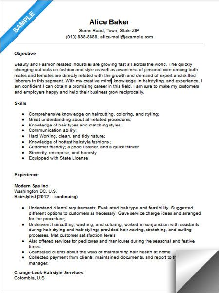 Internship Resume Sample Resume Examples Pinterest Resume - babysitting on a resume