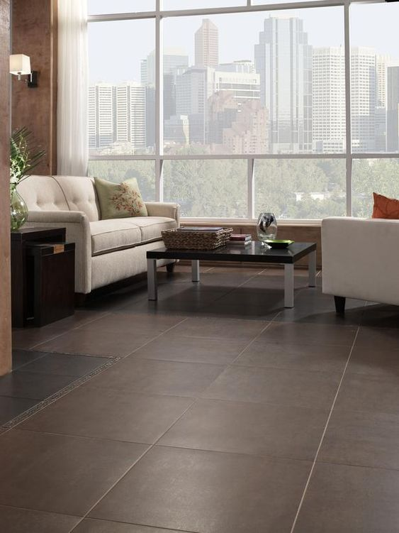 8 Flooring Trends To Try Large Format Grout And Television