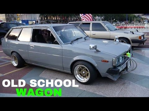 Toyota Corolla Wagon Jdm Old School Car Modified Autoshow Restoration Youtube Corolla Wagon Toyota Corolla Old School Cars