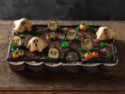 Pull Apart Graveyard Cupcakes Recipe : Food Network Kitchen : Food Network