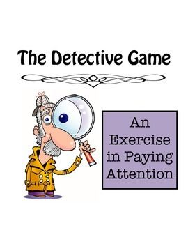 Pay Attention The Detective Director Strategy Card Game