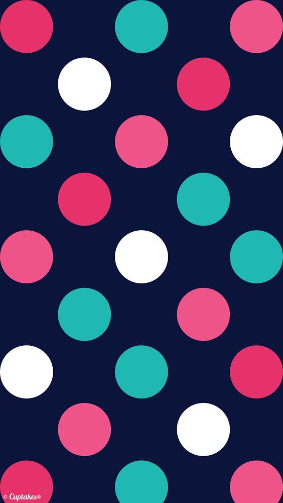 Iphone 5 wallpaper wallpapers pinterest fondos de for Papel pintado de lunares