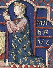 Rainha consorte Matilde II, do Rei de Portugal D. AFONSO III, o Bolonhês (entre 1210 a 1217 - 1279). 1ª mulher Matilde II (1202-1259) reinou desde 1238. Por não poder dar filhos ao rei, foi repudiada por este.
