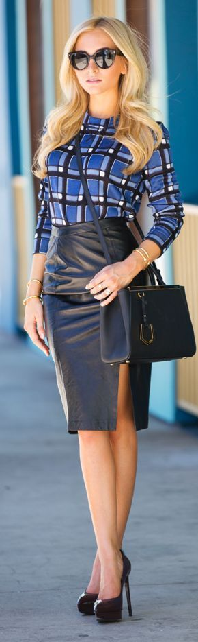38 Pencil Skirts You Need To Try outfit fashion casualoutfit fashiontrends